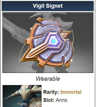 Vigil Signet (Immortal Sven)