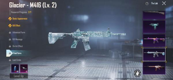 M416 GLACIER LEVEL 2 MURAH