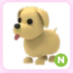 Dog N ( Neon ) - Adopt Me Pet