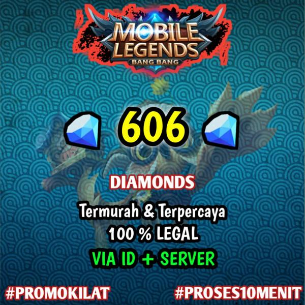 606 Diamond Mobile Legends