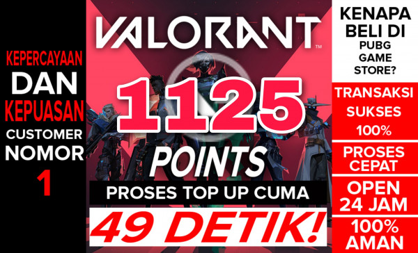 Top Up 1075 Points