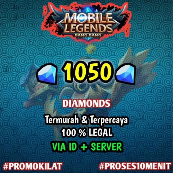 1050 Diamond Mobile Legends
