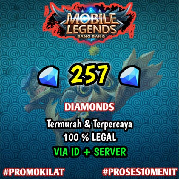 257 Diamond Mobile Legends