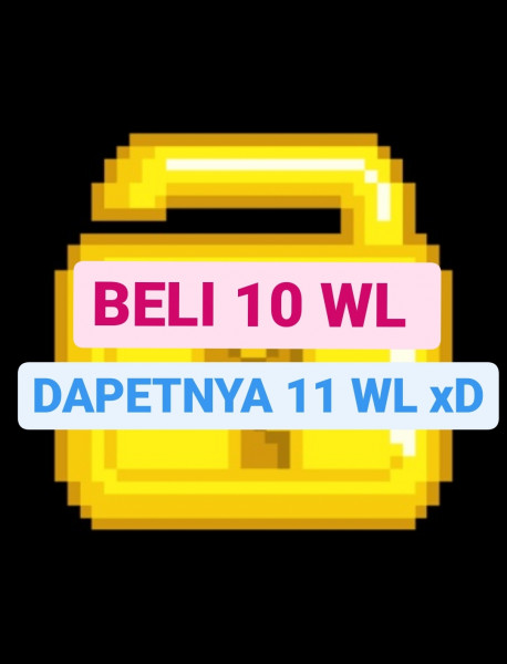 World Lock beli 10 bonus 1