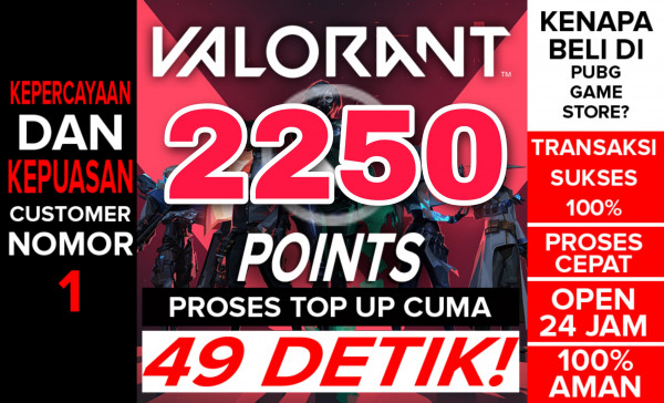 Top Up 2200 Points