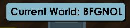 Sell world BFGNOL Rare Indo Only Name
