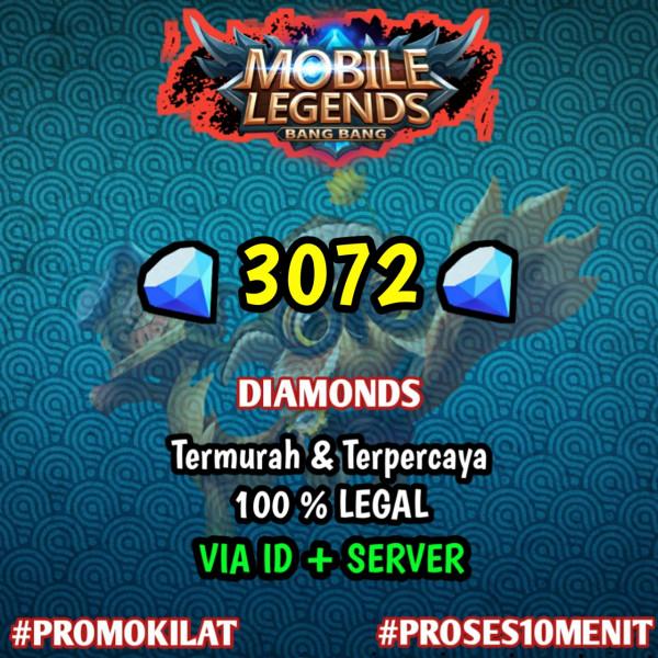 3072 Diamond Mobile Legends