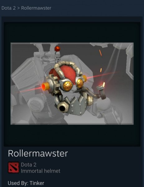 Rollermawster (Immortal Tinker)