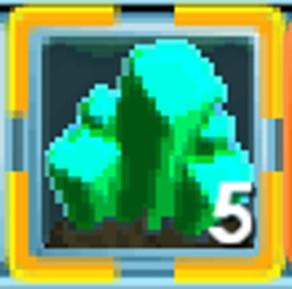 Aqua Cave Crystal (5 Item)