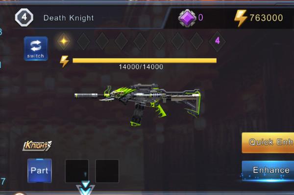 Death Knight + 1000 Diamonds
