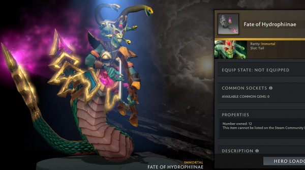 Fate of Hydrophiinae (Immortal TI 10 Medusa)