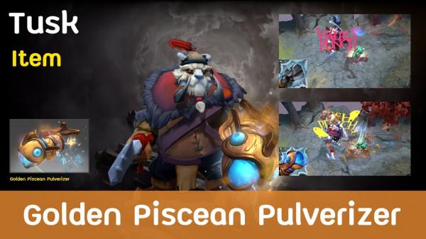 Golden Piscean Pulverizer (Immortal Tusk)