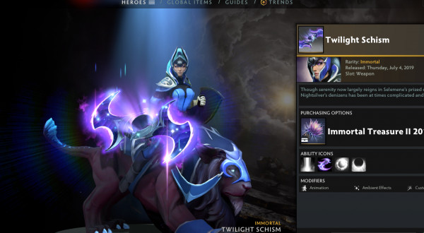 Twilight Schism (Immortal TI9 Luna)