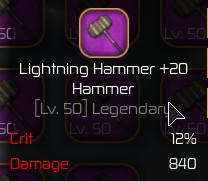 Lightning Hammer Max [Swordburst 2]