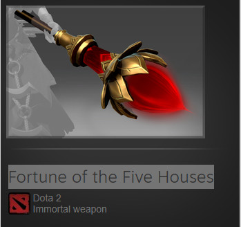 Fortune of the Five Houses