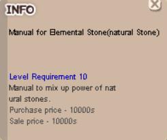 Manual Natural Stone