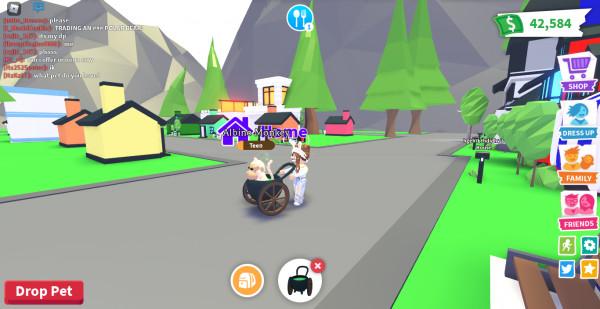 cauldron stroller (adopt me)