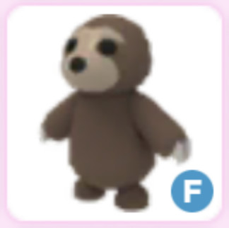 F Fly Sloth Adopt Me
