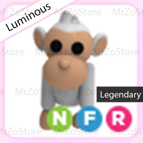 Albino Monkey Adopt Me Pet / Pet Adopt Me - NFR