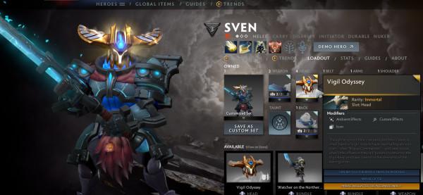 Vigil Odyssey (Immortal TI 10 Sven)
