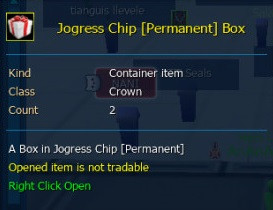 Jogress Chip Permanent