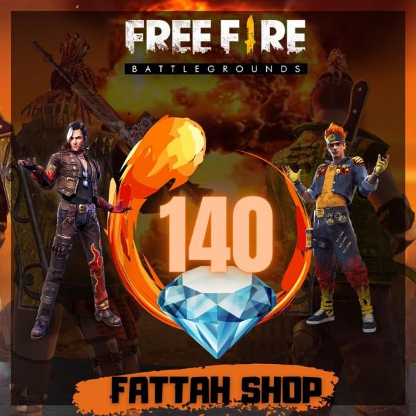 Freefire 140 DM