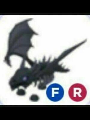 Shadow dragon FR (fly ride) - Adopt Me
