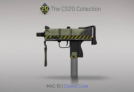 StatTrak™ MAC-10 | Classic Crate