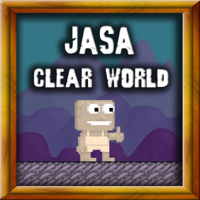 Jasa Clear World [ Hanya Jasa ]