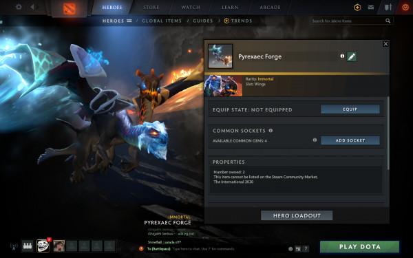 Pyrexaec Forge (Immortal TI10 Jakiro)