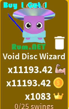 Void Disc Wizard - Pet Saber Simulator