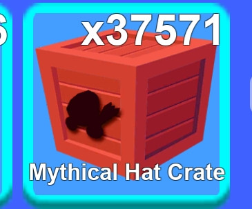 Mythical hat crate - mining simulator