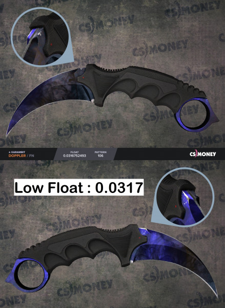 Karambit Doppler Phase 3 Factory New