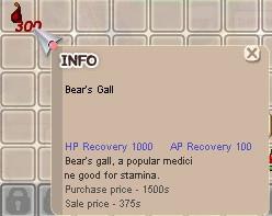 Bear Gall per Stack / Ransum