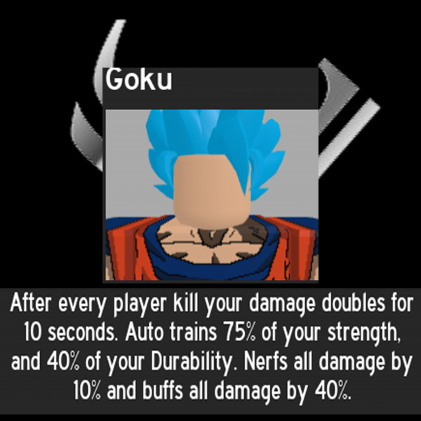 Goku (Sage) - Anime Fighting Simulator