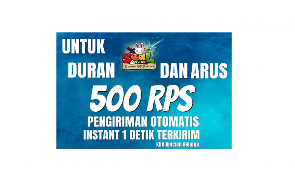 Top Up 500 RPs