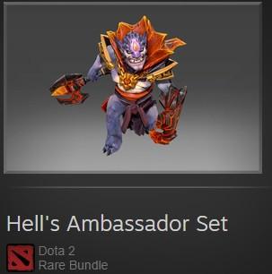 Hell's Ambassador Set(bundle set LION)