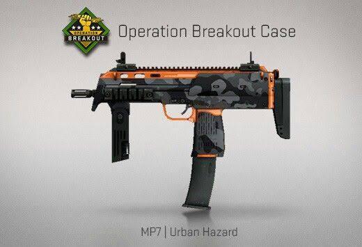 StatTrak™ MP7 | Urban Hazard (StatTrak™ Mil-Spec SMG)
