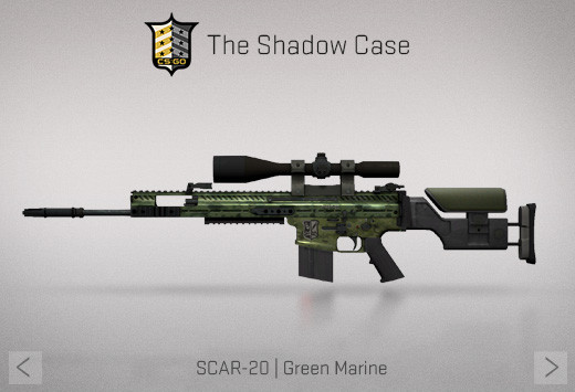 StatTrak™ SCAR-20 | Green Marine (StatTrak™ Mil-Spec Sniper Rifle)