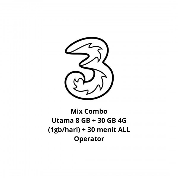 Mix Combo 38 GB + 30 Menit