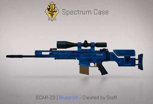 StatTrak™ SCAR-20 | Blueprint