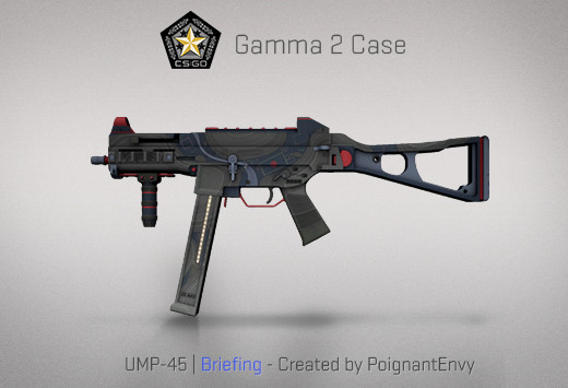 StatTrak™ UMP-45 | Briefing