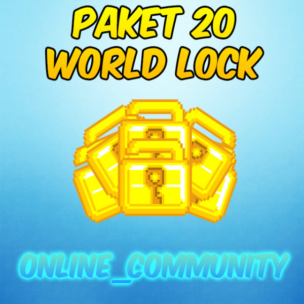 Paket 20 World Lock