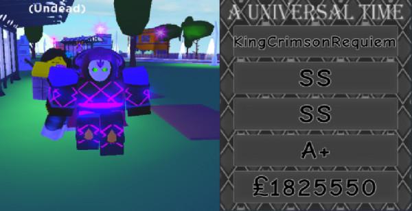 KingCrimsonRequiem - A Universal Time