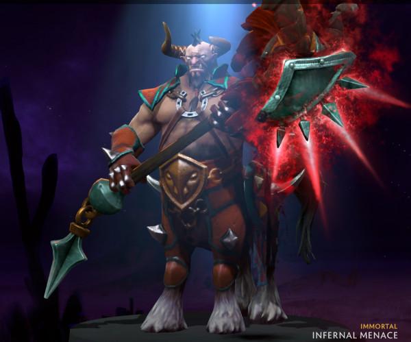 Infernal Menace (Immortal TI9 Centaur Warrunner)