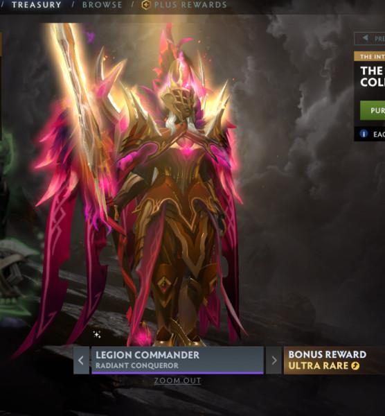 Radiant Conqueror (Legion Commander Set)