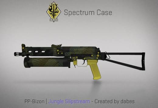 StatTrak™ PP-Bizon | Jungle Slipstream