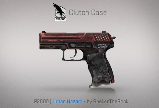 StatTrak™ P2000 | Urban Hazard