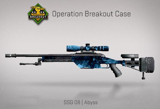 StatTrak™ SSG 08 | Abyss (StatTrak™ Mil-Spec Sniper Rifle)