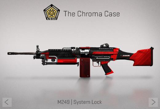 StatTrak™ M249 | System Lock (StatTrak™ Mil-Spec Machine Gun)